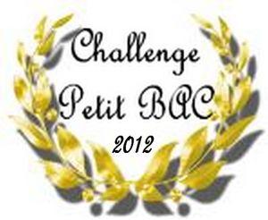 Challenge Petit BAC 2012